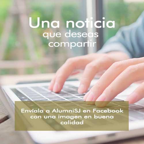 Envía tu noticia al Inbox de AlumniSJ